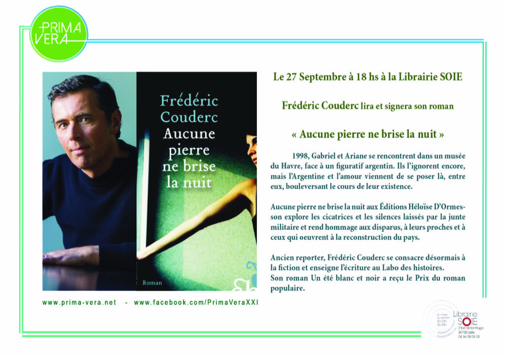 Flyer Frederic Couderc