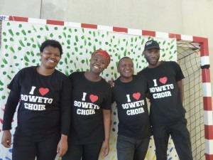 soweto choir au collège JL trintignant.2:10:18 Prima Vera